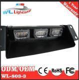 9W Car Dash Deck pare-brise Warning Strobe Light
