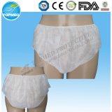 Calcinha / calcinha de papel descartável biodegradável, macia e sanitária