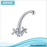 Cuisine simple Mixer&Faucet Jv74010 de traitement de corps de zinc