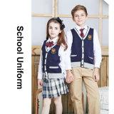 100%Cotton의 공립학교에 있는 신식 아이 교복