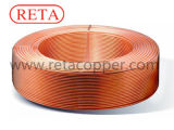 C12200 ASTM B280 Stufen-Wundring-kupfernes Gefäß