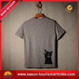 Preiswertes Haut-Farben-T-Shirtflaches Knit-Streifen-T-Shirtlongline-T-Shirt