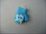 10g акрилового волокна хлопка гильзы детского рисунка очаровательный вещевым ящиком-F3902