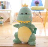 かわいい漫画によって詰められる恐竜のプラシ天のおもちゃ