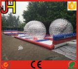 Pista de raza inflable de bola de Zorb de la venta caliente