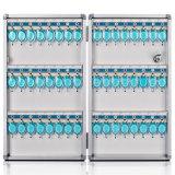 Der 48 Schlüssel-Kasten-Schrank befestigen Wand-Montierungs-Kombinations-Aluminium