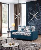 Lieferung des Wohnzimmer-Gewebe-Sofas mit Bett