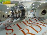 O botão, a porta e o indicador do cilindro Bh-32, dobram os punhos de porta tomada o partido