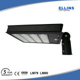 100W 150W 200W 250W LED do sensor de Estacionamento de sapato Light
