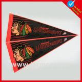 Sublimación personalizada fieltro banderín de la bandera del triángulo