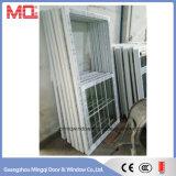 Окно орденской ленты PVC высокого качества двойное повиснутое для сбывания