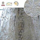 Шнурок ткани вышивки шнурка сетки конструкции снежка