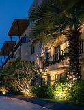 ETL IP65の多機能の真鍮の庭ライトをつける屋外の景色