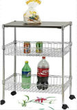 Estantería del almacenaje de la exposición de la visualización del alambre de metal para el estante checo