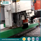 Grabado de madera 3D y corte CNC Router Machine con Rotary