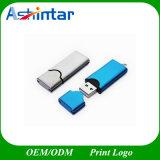 Mecanismo impulsor de plata del flash del USB de Pendrive del palillo del USB del metal