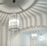 Het moderne/Eigentijdse Licht van het Plafond van de Kroonluchters van de Staaf van het Kristal voor Eetkamer, Slaapkamer en Gang