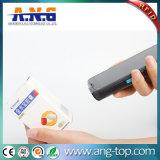 Leitor de RFID de mão sem fio com scanner de código de barras