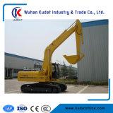 Excavador medio con la capacidad 0.8m3 del excavador 4WD y del compartimiento para la venta