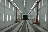 elevación tridimensional de la plataforma del hombre para la cabina de aerosol