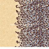 la stampa Pigment&Disperse del leopardo di colore 100%Polyester ha stampato il tessuto per l'insieme dell'assestamento