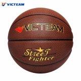Talla al por mayor 7 de la bola del baloncesto del taladro del PVC de la aduana