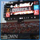 Estádio de futebol ao ar livre Full Color LED Video Scoreboard