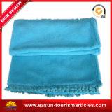 子供の柔らかい高品質の刺繍の競技場の珊瑚の羊毛毛布
