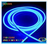 220V IP65 15W/MセリウムのRoHSの証明のネオンロープライト