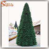 눈 소나무 바늘 인공적인 크리스마스 나무