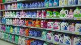 Las dos caras automática el champú de detergente líquido de la máquina de etiquetado de botellas
