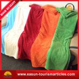 子供のための贅沢で柔らかい綿の厚く編まれたアクリルのピクニック毛布