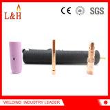 Pista de antorcha Wp18 compatible para el soplete de la refrigeración por agua del TIG