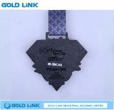 金属はカスタムマラソンの円形浮彫り連続したメダル競争の記念品を制作する