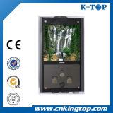10L LCDが付いている壁に取り付けられたガスの給湯装置