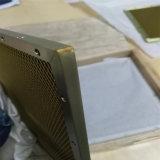 Nid d'abeilles en aluminium de panneaux de blindage antirayonnement (H'R323)