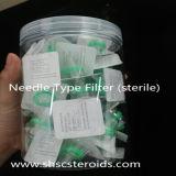 Тип фильтр иглы для фильтров шприца стероидным обеззараживанием масла стерильных