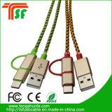 Universal-Daten-Kabel USB-3in1 für alle Telefone