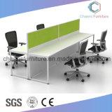 プロジェクト設計の現代木の机のオフィスワークステーション