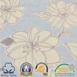 Tissu de flanelle estampé par polyester 100% de qualité