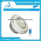 Luces subacuáticas de la piscina de PAR56 LED con el lugar