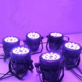 DMX512 LEDの同価はIP65屋外18*10W RGBWをつけることができる