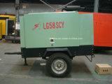 LG58SCY 7m3 8bar gefahrener Schlussteil eingehangener Schrauben-Dieselluftverdichter