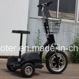 350W Elektrische Zappy Autoped Met drie wielen van 3 Wiel van de Motor van de hub de Elektrische