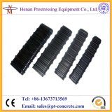 Flache HDPE Leitung für den spannenden und vorspannenden Pfosten