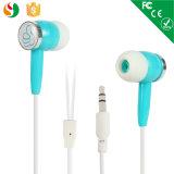 O fone de ouvido estéreo personalizado da fábrica Hot Selling Sport com Quare Case para MP3
