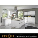 Bedrieg Tijdelijke Kleine Kabinetten voor Keuken met het Ontwerp tivo-0107h van de Keuken van de Douane