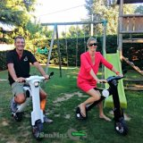 Motocicleta eléctrica de la rueda de 12 pulgadas para la venta