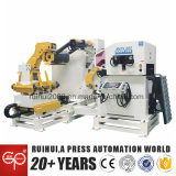 Alimentador automático con Decoiler y Straightener usando en la máquina de prensa