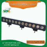 Barre lumineuse à LED de 24 po Barre d'éclairage hors route à distance de 120W hors Jeep, ATV, Ute, UTV Auto Lighting Accessoires de voiture